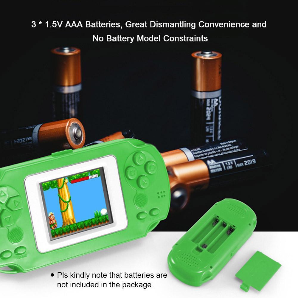 HKB-506 2.0寸彩屏益智掌机 内置268款游戏 绿色 不带电池出货
