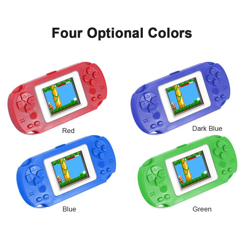 HKB-506 2.0寸彩屏益智掌机 内置268款游戏 红色 不带电池出货