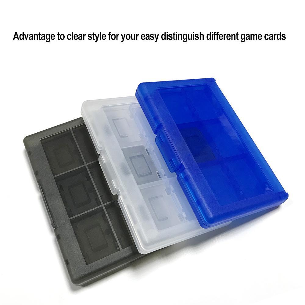 12合1 任天堂游戏机卡收纳盒 switch游戏卡盒保护盒子 黑色