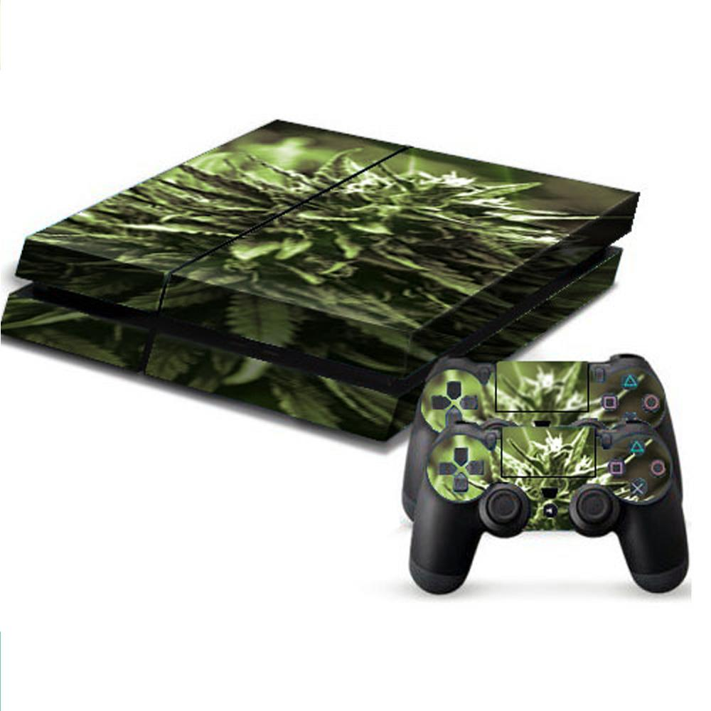 PS4游戏机主机保护贴纸手柄保护贴纸 款式1 ZYA0009 彩色 1套