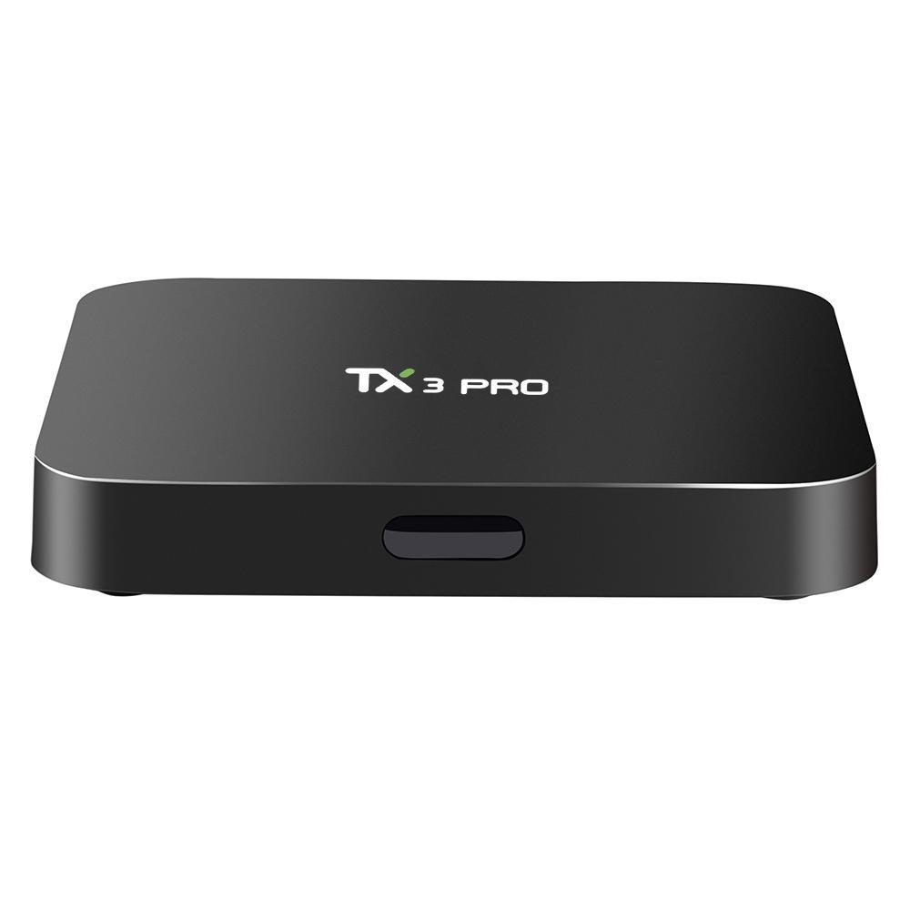 TX3 PRO 安卓智能播放器 Amlogic S905W 安卓7.1 四核 1GB / 8GB 带WiFi LAN 欧规 100-240V